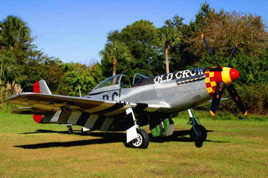 "Jack Roush's P-51 Mustang ""Old Crow"""
