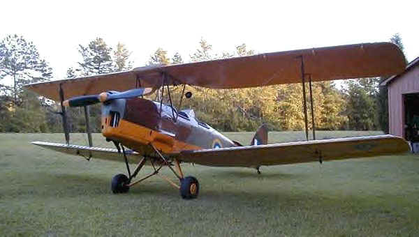 deHavilland DH 82 Tiger Moth